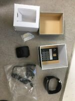 Samsung Galaxy Gear S SM-R750 Charcoal Black smart watch USED mint condition