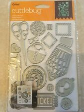 `Cricut Cuttlebug Cut & Emboss Die Set - Lost and Found  NEW