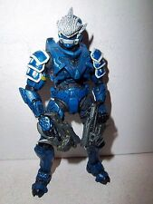 Halo 3 **WALMART EXCLUSIVE BLUE HAYABUSA SPARTAN** RARE! 100% Complete w/ Guns!