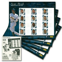 New York Yankees Postage Stamp Sheets