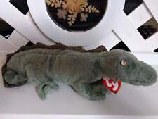 "TY Beanie Baby ~ SWAMPY 12"" Alligator ~ NEW with Tags Retired with PE Pellets"