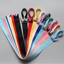 5 x Baby Kids Girls Crown Ribbon Hair Bow Hair Clip Holder Storage Organizer