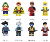 Super Hero 2019 Doctor Samson Banshee Iron Man Trickster Blue Bird Killer Frost
