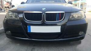 BizTech® Clip In Grill inserts Stripes For BMW 3 Series E91 E90 03-08 M Sport