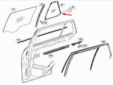 Mercedes-benz Classe C S204 Arrière Gauche Porte Vitre A2047301755 Neuf Original