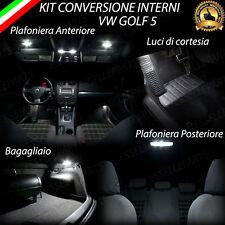 KIT FULL LED INTERNI GOLF 5 V CONVERSIONE INTERNI COMPLETA