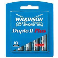100 Wilkinson Duplo II Plus mit Aloe Strip Rasierklingen