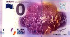 55 VERDUN Départ du soldat inconnu N°6, 2016, Billet 0 € Souvenir
