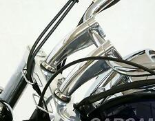 "6"" Motorcycle Pullback Risers For 1"" Handlebar Yamaha V-Star XVS 650 Classic"