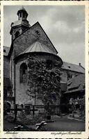 Hildesheim Niedersachsen s/w AK 1929 gelaufen 1000 jähriger Rosenstock Mariendom
