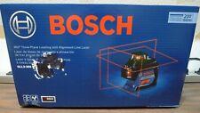 Bosch Gll3 300 200 Ft Self Leveling 3 Plane Cross Line Laser Level Nib Sealed