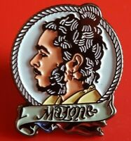Post Malone Pin Enamel B Tattoo Music Famous People Pin Metal Brooch Badge Lapel