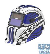 CigWeld WeldSkill Auto-Darkening Helmet Variable Shade - RACER