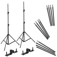 Neewer Photography Backdrop Support System with Backdrop Stand and Crossbar