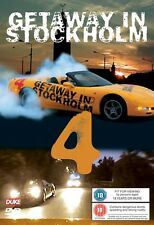 Getaway in Stockholm 4 (New DVD) Street Custom Tests Motor Racing Mr X Stunts