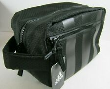 Adidas Team Toiletry Kit Bag Black NWT