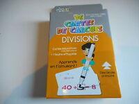 36 CARTES DE CALCULS - DIVISIONS - Apprends en t'amusant dés l'école primaire