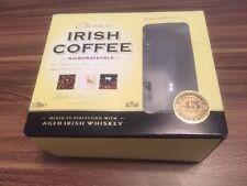 A Pair Of Irish Coffee Style Cup Mug Glass