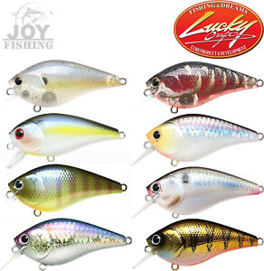 LUCKY CRAFT LC 1.5 Shallow Sqaurebill Crankbait Fishing Lure Select Colors