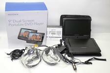"Insignia 9"" Dual Screen Portable DVD Players NS-D9PDVD15 - (IN ORIGINAL BOX)"