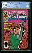SECRET WARS #12 (1985) CGC 9.8 SPIDER-MAN HULK X-MEN SUPER HEROES AVENGERS