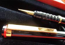 rotring Esprit Füllfederhalter ( M ) Farbe :Lack schwarz-gold