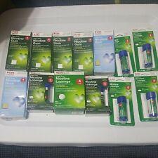 4mg nicotine gum sugar free cvs mint + lozenges exp 1/20 -2/21