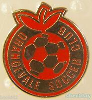 VTG Soccer Ball Sports ORANGEVALE SOCCER CLUB  80s Hat Pin Badge Pinback