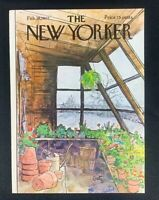 COVER ONLY ~ The New Yorker Magazine, February 28, 1977 ~ Arthur Getz