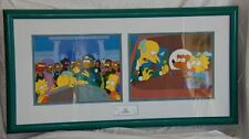 The Simpsons Who Shot Mr. Burns? Limited Edition Cel