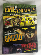 Evil Animals Triple Feature Grizzly/Day of the Animals/Devil Dog Shriek Show DVD
