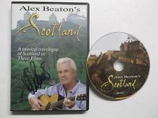 Alex Beaton's Scotland A Musical Travelogue in 3 Films DVD Autographed RARE