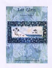 Sea Glass Summer Breeze Dolphin SG-1 Fusible Machine Applique Quilt Pattern