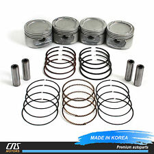 Engine Piston w/ Ring Set for 99-08 Daewoo Lanos Chevrolet Aveo 1.6L E-TEC II