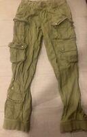 Polo Ralph Lauren Men's Cargo VTG Style  Military Utility Tactical Pants 32 X 34