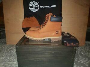 Timberland x Villa Sweet Potatoe Yams Box Set Size 11.5 Men's Boot DS