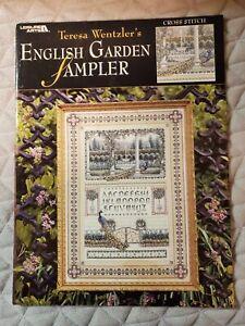 English Garden Sampler by Teresa Wentzler Cross stitch chart pattern #119