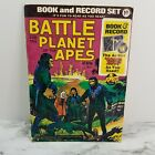 Vintage 1973 Battle For The Planet Of The Apes Book And Record Set USED