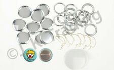 100 of 25mm Locking Spring Pin Badge Button Supplies for Button Badge Maker
