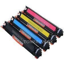 4pk Compatible Toner 130A Set CF350A 351A 352A 353A ForLaserJet MFP M176n M177fw