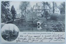 VINTAGE UNDIVIDED POSTCARD WILLIAM CULLEN BRYANT HOMESTEAD ROSLYN LONG ISLAND NY