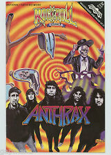 Anthrax / Faith No More 1991 Rock N' Roll Revolutionary Comics #24 First Edition