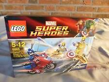 LEGO AVENGERS 6865 Captain America's Avenging Cycle MISB (5835Z-17)