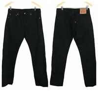 NWOT Black Levi's 501 Men's Size 33 Button Fly Dad Jeans Straight Leg Mom Jeans