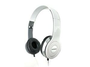 Accuratus H006 Premium Fold Up Headset with In-line Microphone & 3.5mm Connectio