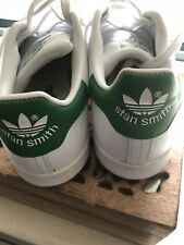 adidas stan smith green and white size women's 8.5 Men's 7.5