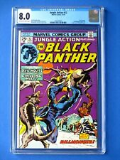 Jungle Action #12 - Featuring Black Panther - CGC 8.0 - Early Killmonger App.
