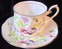 Vintage Royal Albert Gloria Bone China Tea Cup & Saucer - England - #2923