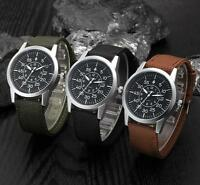 Men Watches Stainless Steel Military Sport Date Analog Quartz Army Wrist Watch