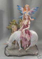 "THE LEONARDO COLLECTION "" FAIRY PARADISE FIGURINE"" 88030 MINT FIGURINE BOXED"
